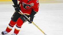 Dion Phaneuf was traded to the Toronto Maple Leafs by the Calgary Flames.