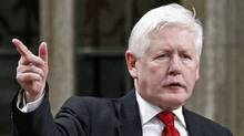 Interim Liberal Leader Bob Rae speaks during Question Period in the House of Commons on Dec. 8, 2011. (CHRIS WATTIE/Chris Wattie/Reuters)