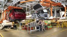 Fiat Chrysler says it has spent $3.7-billion since September, 2014, to design and develop a new minivan and retool the Windsor, Ont., plant where the vehicle is built. (Jeff Kowalsky/Bloomberg)