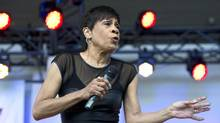 Singer Bettye LaVette performs during the Calgary Folk Music Festival, (LARRY MACDOUGAL/The Canadian Press Images)
