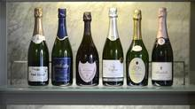 Champagnes and other sparkling wines. (Fred Lum/The Globe and Mail)