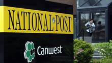 Stephen Meurice had been editor-in-chief of the National Post since 2010. (Deborah Baic/The Globe and Mail)