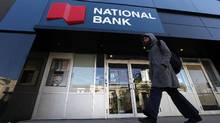 A National Bank location in Toronto. (Deborah Baic/The Globe and Mail)