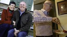 Graham Brown, 60, of Fredericton, lost 47 pounds