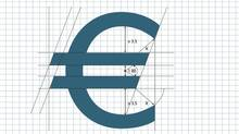 The specification for the construction of euro symbol