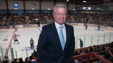 Danny Williams, president of the IceCaps, is a 'provincial treasure,' according to one fan. (Paul Tizzard for the globe and mail)