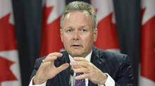 Bank of Canada Governor Stephen Poloz holds a news conference in Ottawa, Wednesday, July 15, 2015. (Adrian Wyld/The Canadian Press)