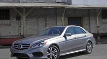 2014 Mercedes-Benz E250 BlueTec (Ted Laturnus for the Globe and Mail)