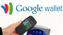 Customers link their credit or debit bank accounts to Android phones with the Google Wallet app installed. They can then tap their phones – which come with an NFC chip – at specially installed terminals at checkout to effect a purchase. (Courtesy of Google)