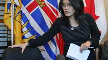 British Columbia NDP MLA Jenny Kwan has stepped down temporarily amid questions about her relationship with the Portland Hotel Society. (DARRYL DYCK/THE CANADIAN PRESS)