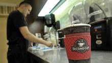Second Cup says it has established a special committee to review its strategic options. (J.P. MOCZULSKI For The Globe and Mail)