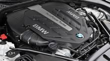 2013 BMW 7-Series engine (BMW)