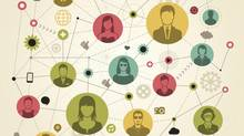 Social networking concept (miakievy/Getty Images/iStockphoto)