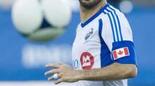 Montreal Impact's Marco Di Vaio (Graham Hughes/THE CANADIAN PRESS)