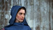 "This film image released by Universal Pictures shows Anne Hathaway as Fantine in a scene from ""Les Miserables."" (Handout/AP)"