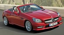 2012 Mercedes-Benz SLK 350. (Daimler AG/Mercedes-Benz)