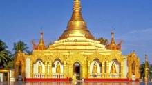 A temple in Kawthaung, Myanmar. (Bruce Kirkby/Bruce Kirkby)