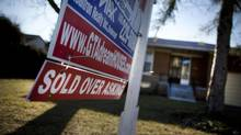 House price overvaluation fading: TD (Moe Doiron/Moe Doiron/The Globe and Mail)