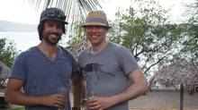Mike Assad (L) and Jon Voigt (R) at the Hilton Papagayo in Costa Rica (Ben Voigt/Courtesy of Agility)