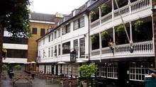 Soak in the history as you enjoy a pint at South London's George Inn.
