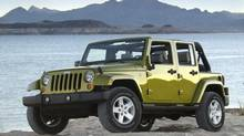 2008 Jeep Wrangler Unlimited. (Chrysler)