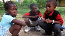 Berline Chéry, Keler Toussaint and Volny Toussaint were among the 33 Haitian children the government is accusing American Baptists of trying to take outside the country without proper documentation.