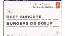 Federal health officials have expanded a frozen-burger recall notice in the wak of an E.coli scare. (LOBLAW COMPANIES LIMITED)