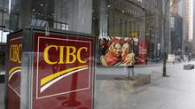A Canadian Imperial Bank of Commerce (CIBC) branch is seen in Toronto in this file photo. (MARK BLINCH/REUTERS)