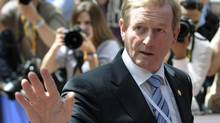 Ireland's Prime Minister Enda Kenny. Ireland was one of five countries to ask for financial assistance from the EU's rescue fund program. (ERIC VIDAL/REUTERS)