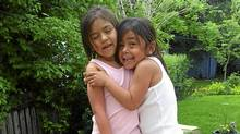 Gabrielle Eckalook, left, was one of three survivors in a plane crash in Resolute Bay. Her sister Cheyenne, 6, was among the 12 who died. (Facebook)