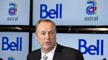 George Cope, BCE president announces is seen in this March 16, 2012 file photo. (Paul Chiasson/THE CANADIAN PRESS)