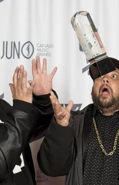 Ah, the Juno Awards. More see-through than a Golden Globe yet less meaningful than a Razzie, the annual awards fete has long suffered from a dearth of star power, but this year's show from Winnipeg was going to put our Canadian music scene on the map, right? (JOHN WOODS/THE CANADIAN PRESS)
