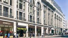 100 New Oxford St. in London. The Canada Pension Plan Investment Board is investing $281.8-million to acquire a 50-per-cent interest in high quality offices, retail and ancillary accommodation located primarily in London's West End. (Canada Pension Plan Investment Board)