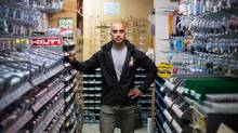 Shafique Shivji, owner of Dunbar Lumber, is pictured in his store in Vancouver, British Columbia on July 6, 2016. (BEN NELMS for The Globe and Mail)