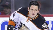 Anaheim Ducks' Shawn Horcoff declined to specify the banned substance or where he got it, saying only it came from someone not employed by the team. (Larry MacDougal/The Canadian Press)