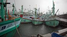 The Thai fishing port of Sonkhla, shown on May 19, 2010, is where it is believed the Tamil migrant ship Sea Sun set sail for Canada. (Cedric Arnold/Getty Images for The Globe and Mail)