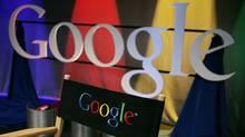 A Google sign inside Google headquarters is seen in Mountain View, Calif., in this May 30, 2007 file photo. (Paul Sakuma/AP/Paul Sakuma/AP)