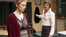 Christine Horne and Susan Coyne in Between The Sheets. (John Lauener)