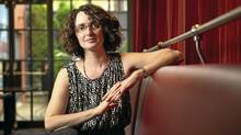 Robyn Levy, author of Most of Me, is photographed in Toronto, Ont. (Kevin Van Paassen/The Globe and Mail)