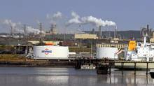 The Irving Oil refinery in Saint John. The refinery, Canada's largest, has increased its ability to source crude by rail over the past 2 1/2 years to take advantage of cheaper North American supplies, a market shift that's unlikely to reverse course amid fallout from Saturday's Lac-Mégantic freight train disaster. (Roger Hallett/The Globe and Mail)