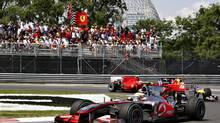 Montreal Formula 1 Canadian Grand Prix. (Jacques Boissinot/The Canadian Press/Jacques Boissinot/The Canadian Press)