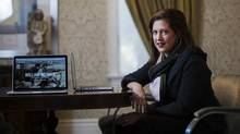 Sarah Angel plans for the Art Canada Institute to publish at least 12 online books on individual artists by 2015. (Michelle Siu For The Globe and Mail)