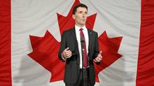 Ottawa MP Paul Dewar announces his candidacy for the NDP leadership on Oct. 2, 2011. (BLAIR GABLE/Blair Gable/Reuters)