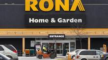 A Rona store is pictured in Ottawa February 24, 2011. (CHRIS WATTIE/REUTERS)