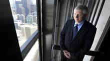 Didier Michaud-Daniel, president of Otis Elevator, in one of the CN Tower's Otis-built and -maintained elevators. Fred Lum/The Globe and Mail (Fred Lum/Fred Lum/The Globe and Mail)