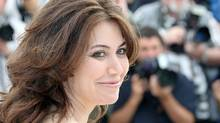 Director Sabina Guzzanti appears at a photocall for her film Draqila: Italy Trembles in Cannes, May 13, 2010.