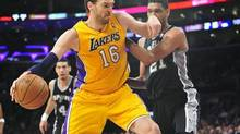 Former Los Angeles Lakers center Pau Gasol (© USA Today Sports / Reuters)