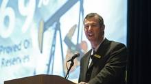 File photo of Murray Nunns, president and chief operating officer of Penn West Energy. (TODD KOROL/REUTERS)