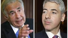 Carl Icahn, left, and William Ackman. (STAFF/REUTERS)
