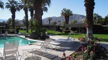 The Sandpiper, in Palm Desert, Calif., is architect William Krisel's mega-complex of 306 condo-homes arranged around 18 swimming pools. It was built between 1958 and 1969. (John Trivisonno)